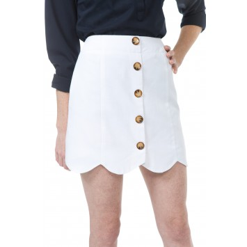 Dessie Skirt: White